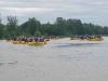 Rafting kup Mura 2006-neki od ukupno 24 čamca