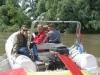 Rafting kup Mura 2006-naš policijski čamac je bio brži i bolje opremljen, a niti članovi posade nisu za odbaciti