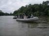 Rafting kup Mura 2006-pratnja Hrvatske i Mađarske policijske patrole